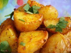 Pommes de terre au four épicées