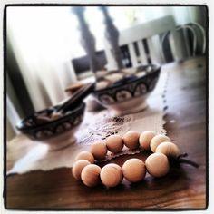 19 Best Träkulor images in 2020 | Crafts, Wooden beads, Wood