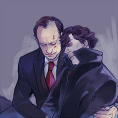Sherlock and Mycroft ----Brother feels!!