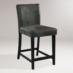 We love the sink-in comfort of our stylish Charcoal Reese Counter Stool. Crafted with a distressed charcoal microfiber seat and back, this versatile stool looks stunning when you pull it up to any counter, bar or high-top table. inexpensive and like the look