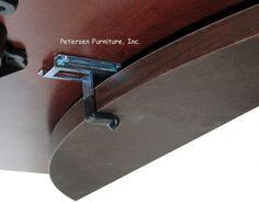 Drop Leaf Table Hardware Detail