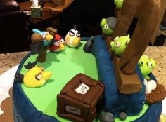 Best Angry Birds Cake  Im Sure Somebodys Baking Another One