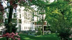 The Bulgari Hotels & Resorts Milano is located in its own private park.