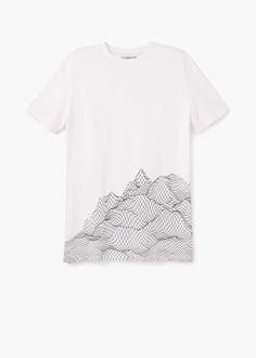 77a8402fcb910 Camiseta algodón estampado - Camisetas de Hombre