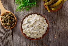 Why buy jarred tartar sauce when homemade takes about five minutes to make? Classic tartar sauce can be made with dill or sweet pickles, depending on your. Recipe For Tartar Sauce, Homemade Tartar Sauce, Homemade Mayonnaise, Sauce Recipes, Fish And Chips, Chewy Ginger Cookies, French Sauces, Sweet Pickles, Homemade Yogurt