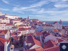 Bezoek één van de meest pittoreske steden van Europa. Laat Lissabon met de rode daken en pastelkleurige gebouwen je reis onvergetelijk maken!  #MSCPoesia
