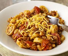This pasta one-dish meal combines all the Mexican flavors and spices that taco lovers enjoy. Try this vegetarian recipe on a weeknight when you need a meal in 30 minutes or less.