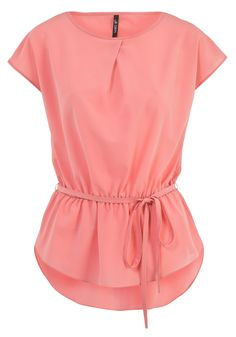 Crêpe peplum blouse with cute detail on the neckline. Perhaps some added sleeve length for and voila - Classy modesty!