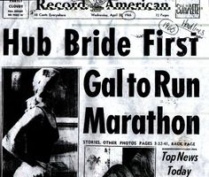 Bobbi Gibb: First woman to run the Boston marathon (in nurse's shoes, no less), sculptor, painter, lawyer, writer, neuromuscular researcher looking into ALS...