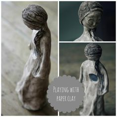 Playing With Paper Clay
