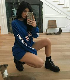 How to Take Your Best Selfies Ever, Courtesy of Kylie Jenner Kylie Jenner Outfits, Kendall E Kylie Jenner, Trajes Kylie Jenner, Looks Kylie Jenner, Estilo Kylie Jenner, Kylie Jenner Style, Kardashian Jenner, Kourtney Kardashian, Kylie Jenner Instagram 2016