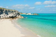 Plandon Cay Cut Beach, South Caicos, Turks and Caicos Islands.