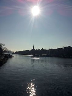Today was a beautiful day here in #Amsterdam