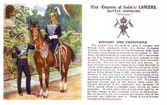 21st (Empress of India's) Lancers Military Cards, Military Gear, Military History, Great British, British Army, Red Coats, Tribal Outfit, British Uniforms, Catholic Priest