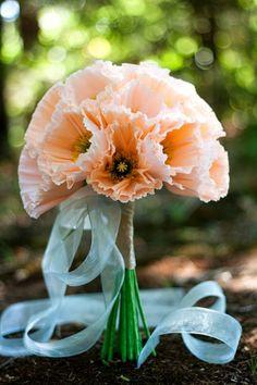 #paper #flowers from the crimson poppy