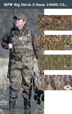 MPW Big Ditch 3.5mm 1000G Chest Waders (Realtree Max-5) (Men's 12 Stout). Many hunters know and trust the Big Ditch wader to be not too hot and not too bulky. That tradition continues with the totally redesigned MPW Big Ditch 3.5mm 1000G Chest Waders by LaCrosse. It's 100% waterproof with a patent pending Armor Weld double stitched seam sealing process that ensures long lasting protection. Add the tough comfortable and insulating 3.5mm neoprene upper coated with an abrasion resistant...
