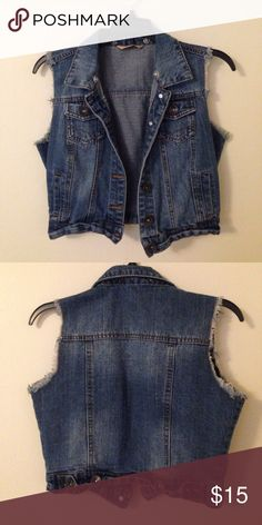 Denim Vest Great condition 👍🏼 smoke free 🚭 no rips ✂️ Highway Jeans Jackets & Coats Vests