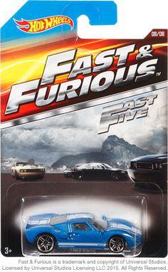 Ford GT-40 Hot Wheels - Fast & Furious - Fast Five - 2015 - Car 8/8 - CLJ38-0910