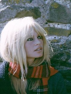 Brigitte Bardot, Bangs and Gap Bridgitte Bardot, Viejo Hollywood, Françoise Hardy, French Actress, Twiggy, Belle Photo, Hair Inspiration, Hair Inspo, My Hair