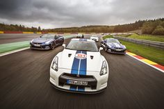 2700bhp is the best way to heat up the track on a cold morning at Spa-Francorchamps