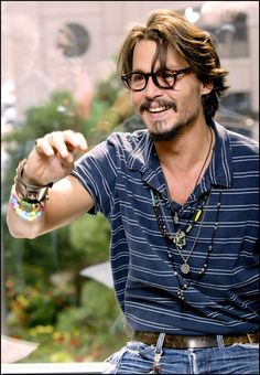 """Johnny Depp photographed for publicity for """"Corpse Bride"""" September 12th, 2005."""