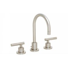 "California Faucets 6602-EB Montara 8"" Widespread Lavatory Faucet English Brass - eFaucets.com"