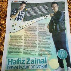 Write up @hafizza1nal di Utusan Malaysia #CintaBukanJalanKita #cbjk #HafizZainal
