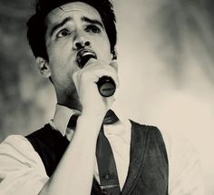 Brendon Urie from Panic! At the Disco.