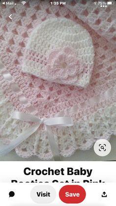 Baby Beanie Hats, Crochet Baby, Crochet For Baby