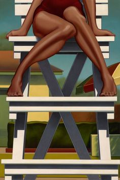 "Painting by Kenton Nelson ""Nobility"""