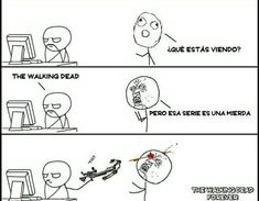 The Walking Dead ↣ Memes Memes The Walking Dead, Walking Dead Wallpaper, Twd Memes, Carl Grimes, Reading, Funny, Wattpad, Life, Walking Dead Zombies