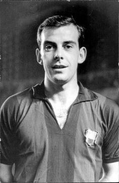 """Chus Pereda"" Jesús María Pereda (15 June 1938 – 27 September 2011), Spanish midfielder, FC Barcelona (1961-1969)"