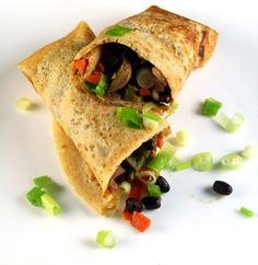 Dosa Spring Roll is an Indo-Chinese fusion recipe, made of a crispy, crepe-like dosa stuffed with a spring roll filling. This is a gluten-free recipe.