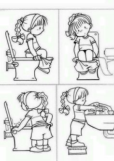 You Should Experience Potty Training Printable Coloring Pages At Least Once In Your Lifetime And Heres Why Toilet Training, Potty Training, Preschool Activities, Preschool Worksheets, Sequencing Pictures, Olay, Pre School, Life Skills, Special Education