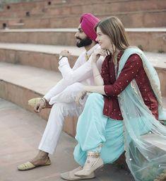 Pin by Haley Hooper on Wedding in 2019 Punjabi Salwar Suits, Punjabi Dress, Patiala, Embroidery Suits Punjabi, Kurti Embroidery Design, Indian Dresses, Indian Outfits, Simple Indian Suits, Function Dresses