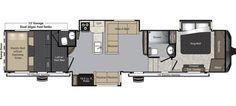 Keystone RV 425TS - NEW floorplan