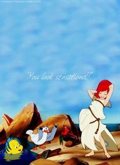 The Little Mermaid. <3 My FAVORITE Disney Movie. Probably made my dad watch it with me a gazillion times growing up...oopsies