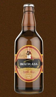 Cerveja Cerveja Imaculada Red Ale, estilo Irish Red Ale, produzida por Cervejaria Caseira, Brasil. 6.2% ABV de álcool.