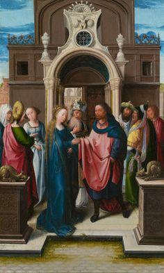 Orley, Bernard van Netherlandish, c. 1488 - 1541 The Marriage of the Virgin c. 1513