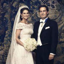 Estas son las fotografías oficiales de la boda de Magdalena de Suecia y Christopher