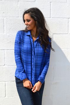 Mad About Plaid Shirt from Shop Southern Roots TX