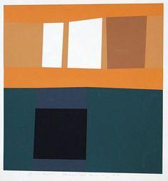 Harold Krisel, 'Dark and Light Forms' 1962 — We just purchased a Krisel original.