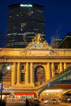 Grand Central Station ~ Manhattan, New York