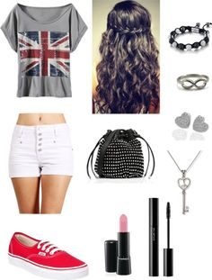 """Union Jack or British Flag"" by lovelylillyxx ❤ liked on Polyvore"