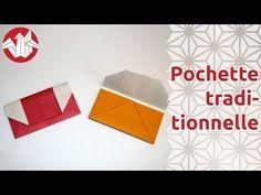 Origami - Pochette traditionnelle [Senbazuru] - YouTube