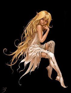 Elfin Beauty - fantasy Photo