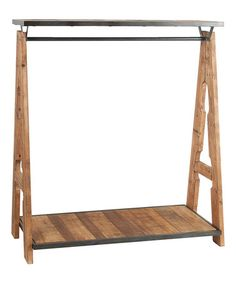This Rustic Free-Standing Coat Rack by Established 98 is perfect! #zulilyfinds