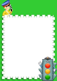 Hello Kitty Invitations, Vegetable Cartoon, Kindergarten Portfolio, Diy And Crafts, Crafts For Kids, Boarders And Frames, Frame Background, Border Design, Scrapbook Albums