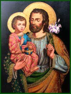 A ti recurrimos en nuestra tribulación,    bienaventurado san José,    y después de implorar el socorro   de tu santísima Esposa,   ...