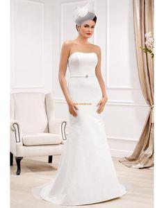 Styl trumpeta / Mořská panna Délka dvorní Elegantní & luxusní Svatební šaty 2014